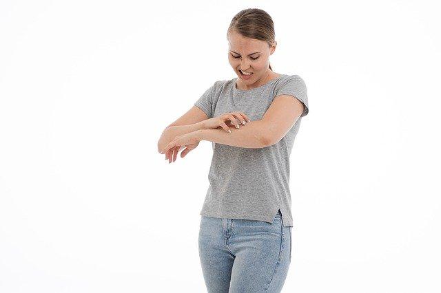 troubles dermatologiques yoga